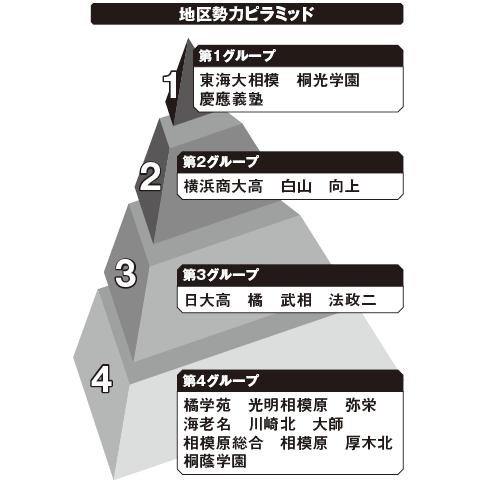 北神奈川 勢力ピラミッド