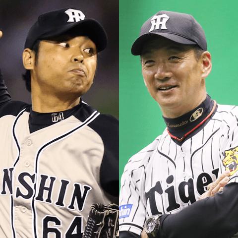 今年の阪神中継ぎのキーマンの1人桑原謙太朗と金本知憲監督
